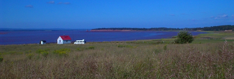 Road trip: south shore of Minas, Cobequid, Acadian cellar sites