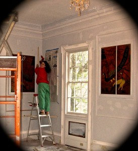 2010, crown molding, glad I did it, will never ever do anything like this again