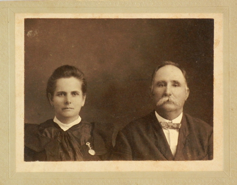 1905,Feb.27, marriage of Adeo Hebert & Sidonie Resweber, a schoolteacher. Adeo b.Oct.22,1845, d.Sept24,1917,