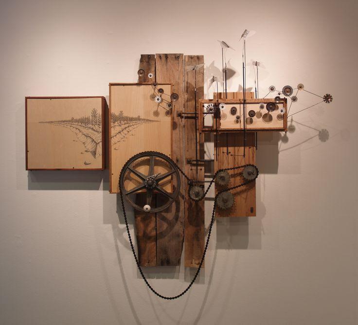 Danny Saathoff, assemblage art