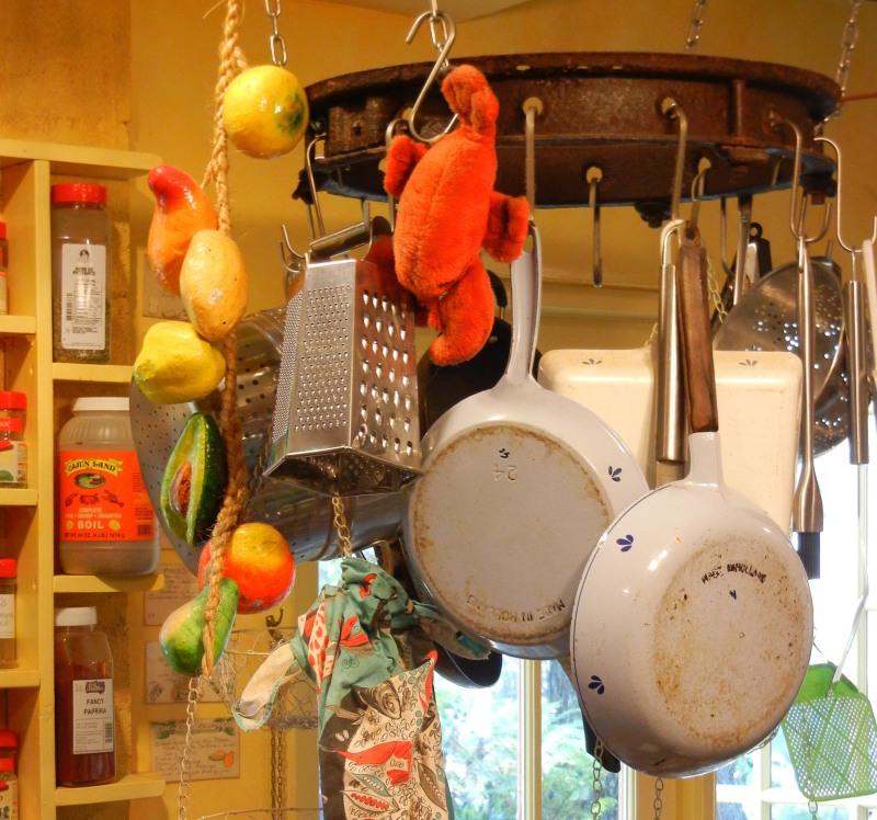 . . . a nice pot rack