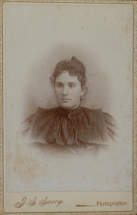 Alicia Hebert, age 18, at the time of her marriage